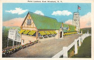 G49/ East Windham New York Postcard c1920 Point Lookout Archery Court