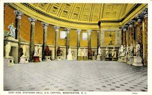 DC - Washington. Capitol Building, Statuary Hall, East Side