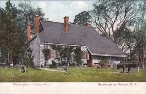 New York Newburg On Hudson Washington's Headquarters 1906