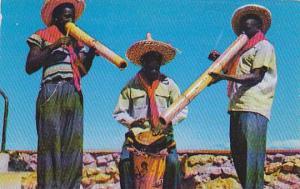 Petion-Ville , Haiti , Drum & Vaccine Players , 40-60s
