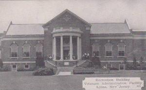 New Jersey Lyons Recreation Building Veterans Administration Facility