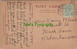 Family History Postcard - Worrall - 115 Powell Street, Wolverhampton RF8275