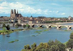 France Orleans (Loiret) Le pont George V Bridge Panorama