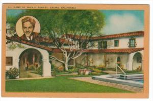 California  Encino  Home of Mickey Rooney