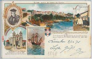 PERU - POSTAL ANTIGUA vintage postcard - SIN nice>ES 1898: VASCO DA GAMMA