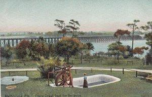 MELBOURNE , Florida , 00-10s ; Crane Creek from the Bellevue