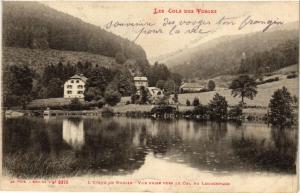 CPA L'ETANG DU RUDLIN Vue prise vers le Col du Louschpach (401269)