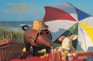 Florida Orlando We re Piggin Out In Florida And Bacon In the Sun 1999