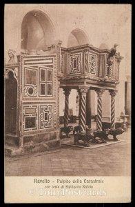 Ravello - Pulpito della Cattedrale - con testa di Sigiligaita Rufolo