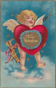 VALENTINE´S DAY ; Cherub & giant Heart , 00-10s