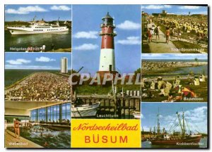 Postcard Modern Nordseeheilbad Busum