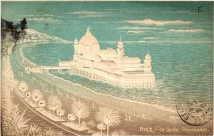 CPA  Nice - La Jetée - Promenade - Embossed  (488687)