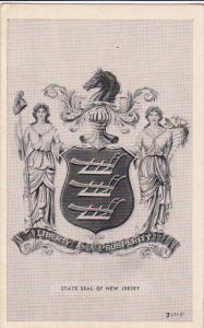 Liberty and Prosperity, State Seal of NEW JERSEY, 10-20s