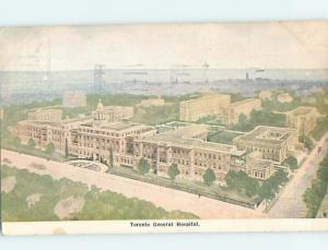 Divided-Back HOSPITAL SCENE Toronto Ontario ON W3327