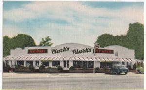 Santee, South Carolina,  Early View of Clark's Restaurant