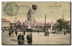 Postcard Old Colonial Exhibition Palace of Cambodia