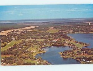 Unused Pre-1980 AERIAL VIEW Lake Wales Florida FL hs8163