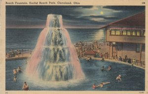 CLEVELAND , Ohio, 1930-40s ; Euclid Beach Park , Water fountain