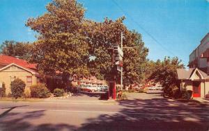 Hot Springs National Park Arkansas Parkway Court Vintage Postcard K825820