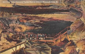 Salt Petre Vats Operated during the war of 1812 Mammoth Cave KY