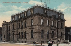WINDSOR , Ontario , Canada , 1914 ; Post Office