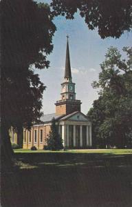 Davidson College Presbyterian Church, Davidson, North Carolina, 40-60´s