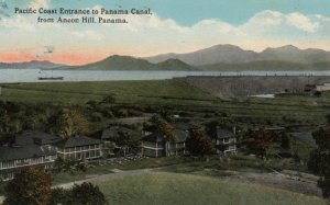 PANAMA, 1918;  Pacific Coast Entrance to Panama Canal from Ancon Hill