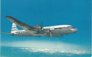 Pan American World Airways, PAA Super-6 Clipper, Postcard, Unused