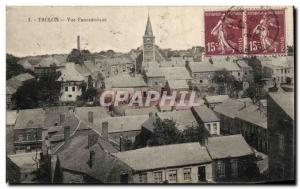 Postcard Old Trelon Panoramic