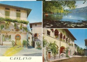 Switzerland, Caslano, Lago di Lugano, 1965 used Postcard