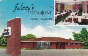 JACKSON , Mississippi , 1950s; Johnny's Restaurant