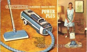 Advertising Postcard Post Card Electrolux, Power Plus Unused