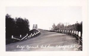 RP: NORTH BATTLEFORD , Saskatchewan, Canada; 30-40s Bridge Approach
