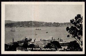 Bay Scene,Sausalito,CA