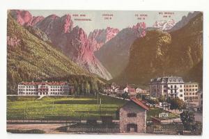 Italy Alps Tirol Toblach Toblachersee Ampezzotal Postcard