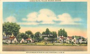 Anchor Travel Village Branson Missouri MO Linen