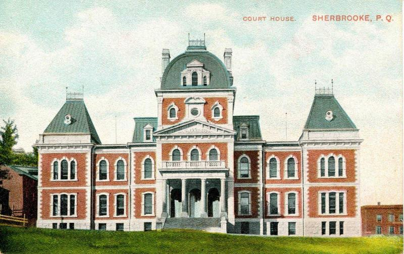 Canada - Quebec. Sherbrooke, Courthouse