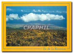 Modern Postcard Reunion Island
