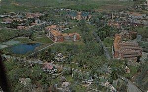 Marysville Northwest Missouri State Univ~Golden Pond & Hall~Stadium Corner 1950s