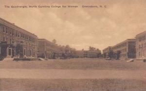 North Carolina Greensboro The Quadrangle North Carolina College For Women Alb...