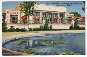 Restaurant, The Chicago Zoological Park at Brookfield, Illinois