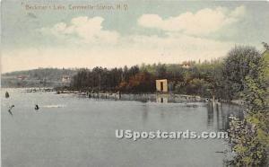 Beckman's Lake Centerville Station (Woodridge) NY 1914