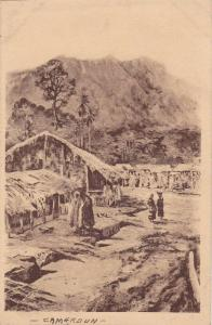 Village in Cameroon , Le Pays de Nkongsamba, 1910-20s