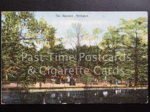 c1907 - Nottingham The Arboretum showing the Aviery