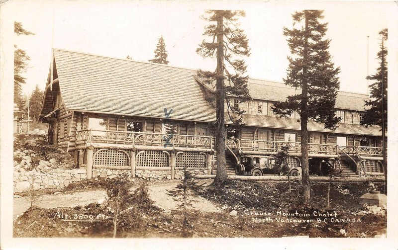 br106314 grouse mountain chalet north vancouver canada