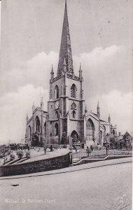 WALSALL , England , 00-10s ; St. Matthew's Church ; TUCK 1973