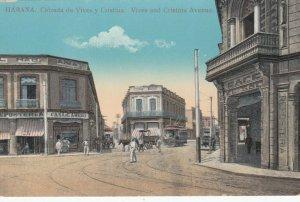 HAVANA , Cuba, 1900-10s ; Calzada de Vives y Cristina