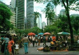 Brazil Sao Paulo Republic Square