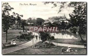 Great Britain Great britain Old Postcard the park Margate