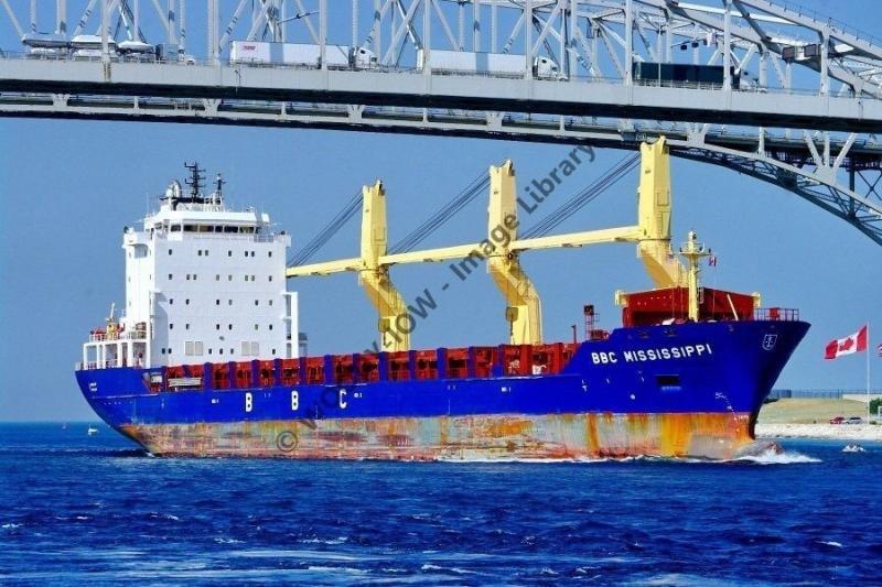 ap0807 - Cargo Ship - BBC Mississippi , built 2006 - photo